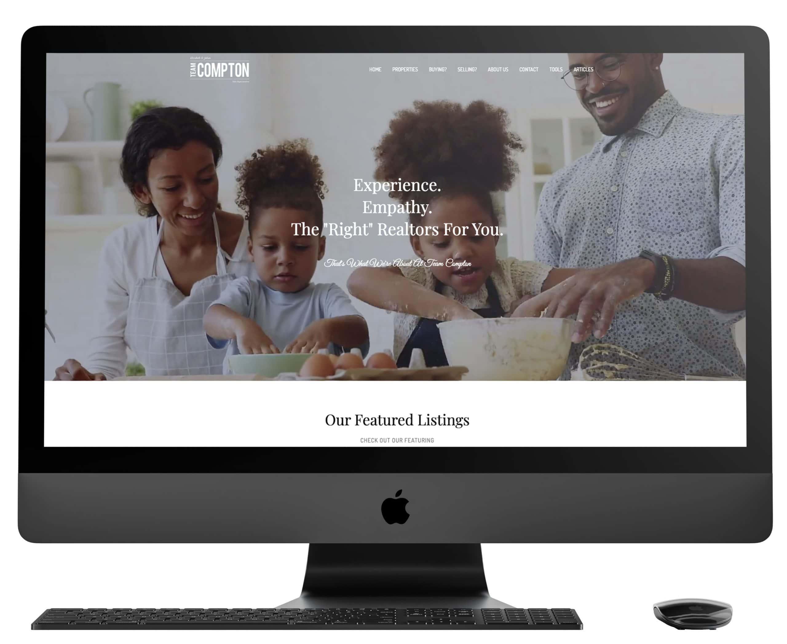 Team Compton Website Redesign